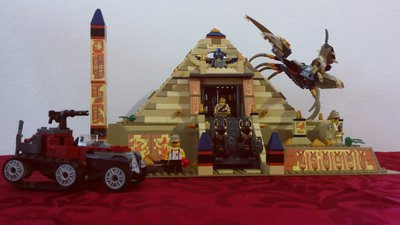 Review LEPIN 31001 - Scorpion Pyramid