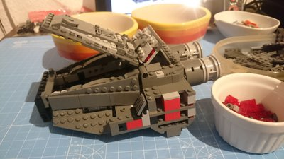Review LEPIN 05006 - Kylo Rens Command Shuttle