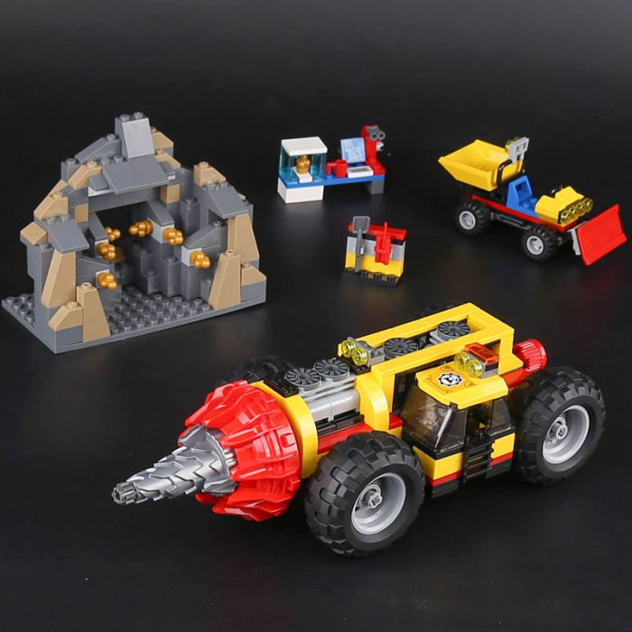 LEPIN 02101 Mining Heavy Driller Compatible LEGO 60186
