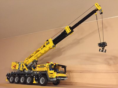 Review LEPIN 20004 - Mobile Crane MK II