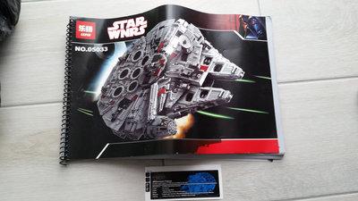 Review LEPIN 05033 - Millennium Falcon - UCS