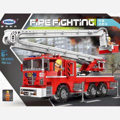 XINGBAO Lift Up Fire Engines XB-03029