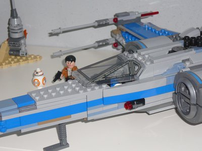 Review LEPIN 05029 Rebel X-Wing Fighter