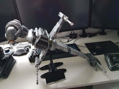 Revew LEPIN 05045 UCS B-Wing Fighter