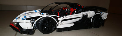 Review LEPIN 23006 - Lamborghini Aventador LP 720-4 Pirelli Edition (MOC)