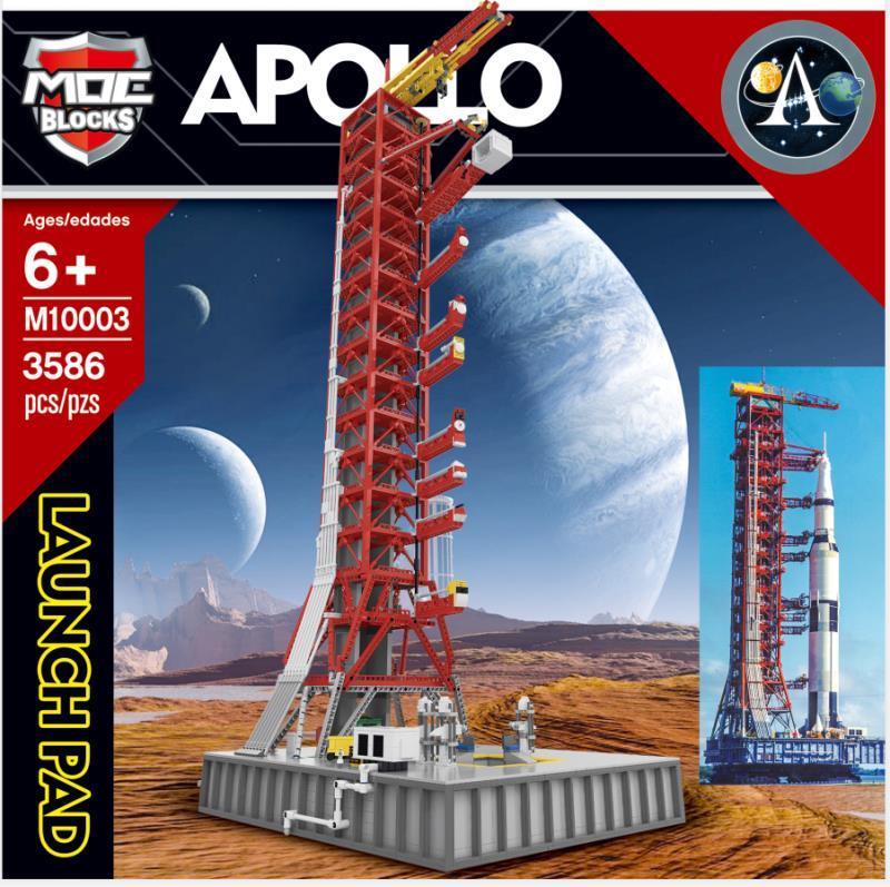 MOC BLOCKS M10003 Apollo LaunchPad Compatible J Brand J79002
