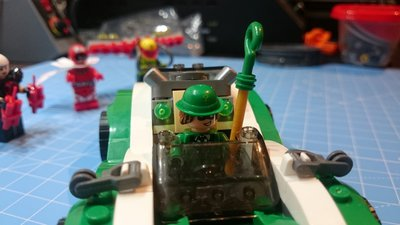 Quick Review LEPIN 07059 - Riddler's Racer