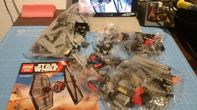 Review LEPIN 05005 First Order Special Forces Tie
