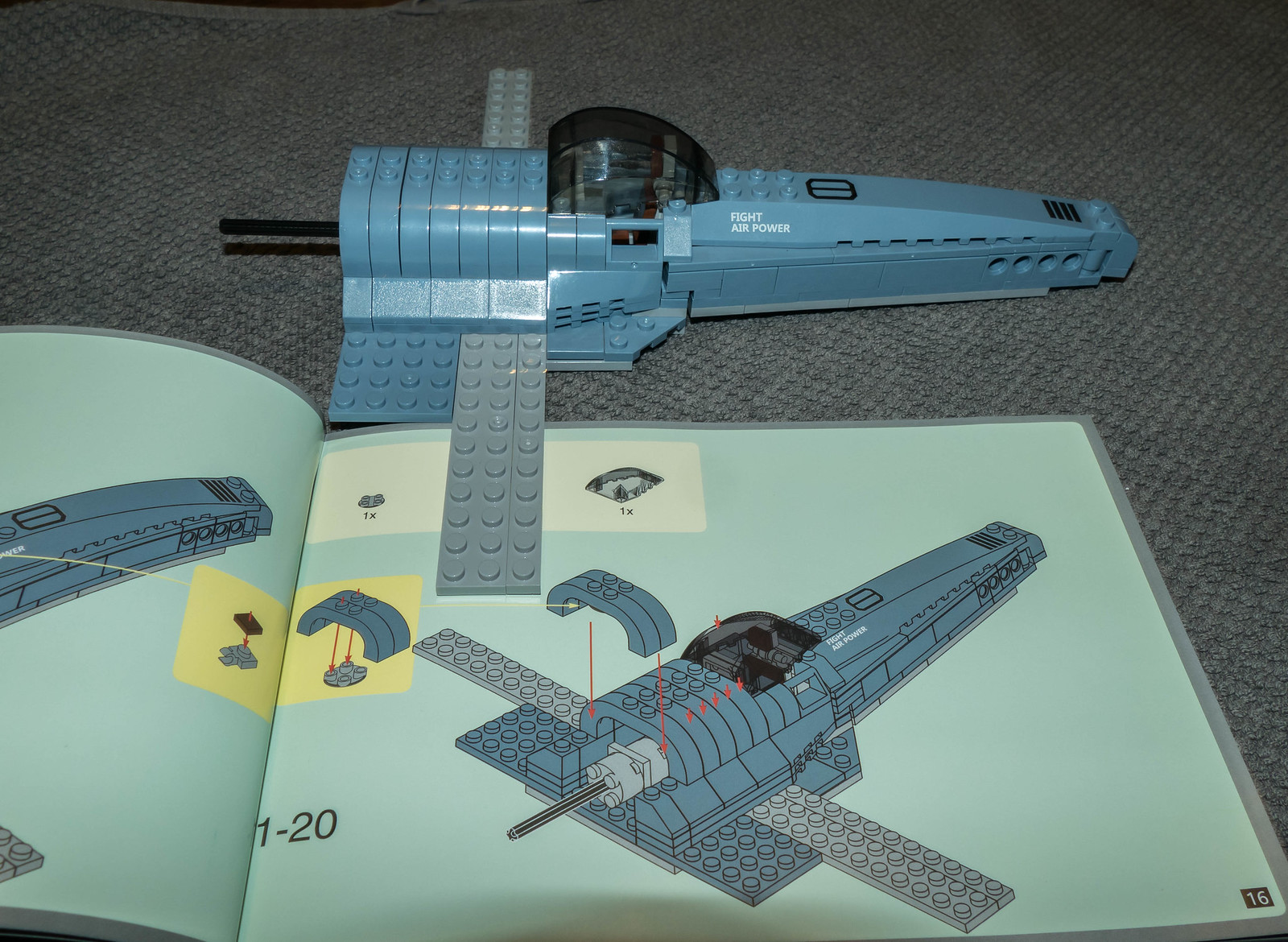 Review Lepin 22021 Space Fighter
