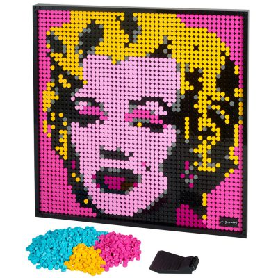 Art PIC 8897 Andy Warhol's Marilyn Monroe Compatible LEGO 31197