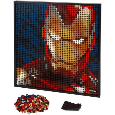 Art PIC 8899 Marvel Studios Iron Man Compatible LEGO 31199