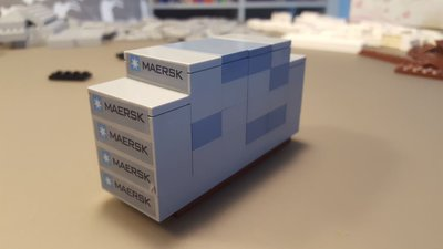 Review Lepin 22002 Maersk Container Ship Triple E Class