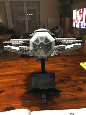 Review LEPIN 05055 - Vader's TIE Advanced (UCS 10175)