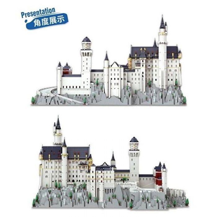 Modular buildings kaiyu k86201 neuschwanstein castle, bavaria