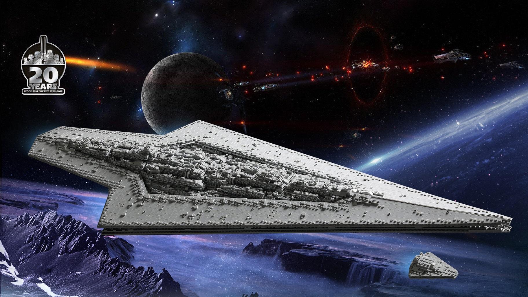 MOC 100013 Executor Class Star Dreadnought by David Hoffmann