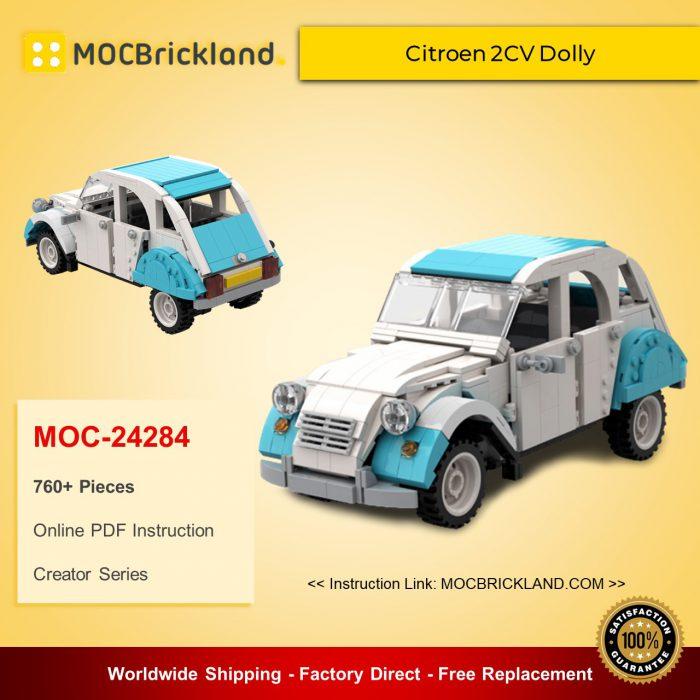 Creator moc-24284 citroen 2cv dolly by ww mocbrickland