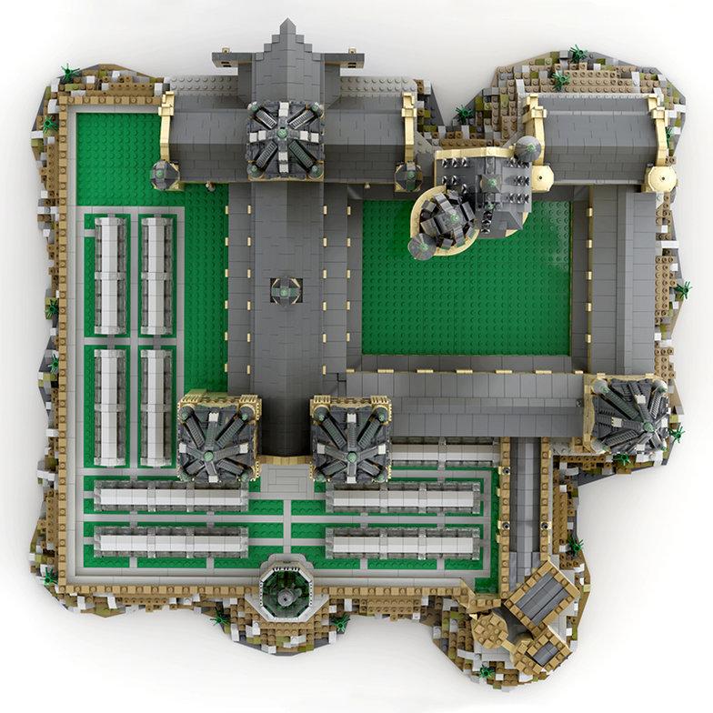 MOC 30884 Hogwart's Castle Epic Extension