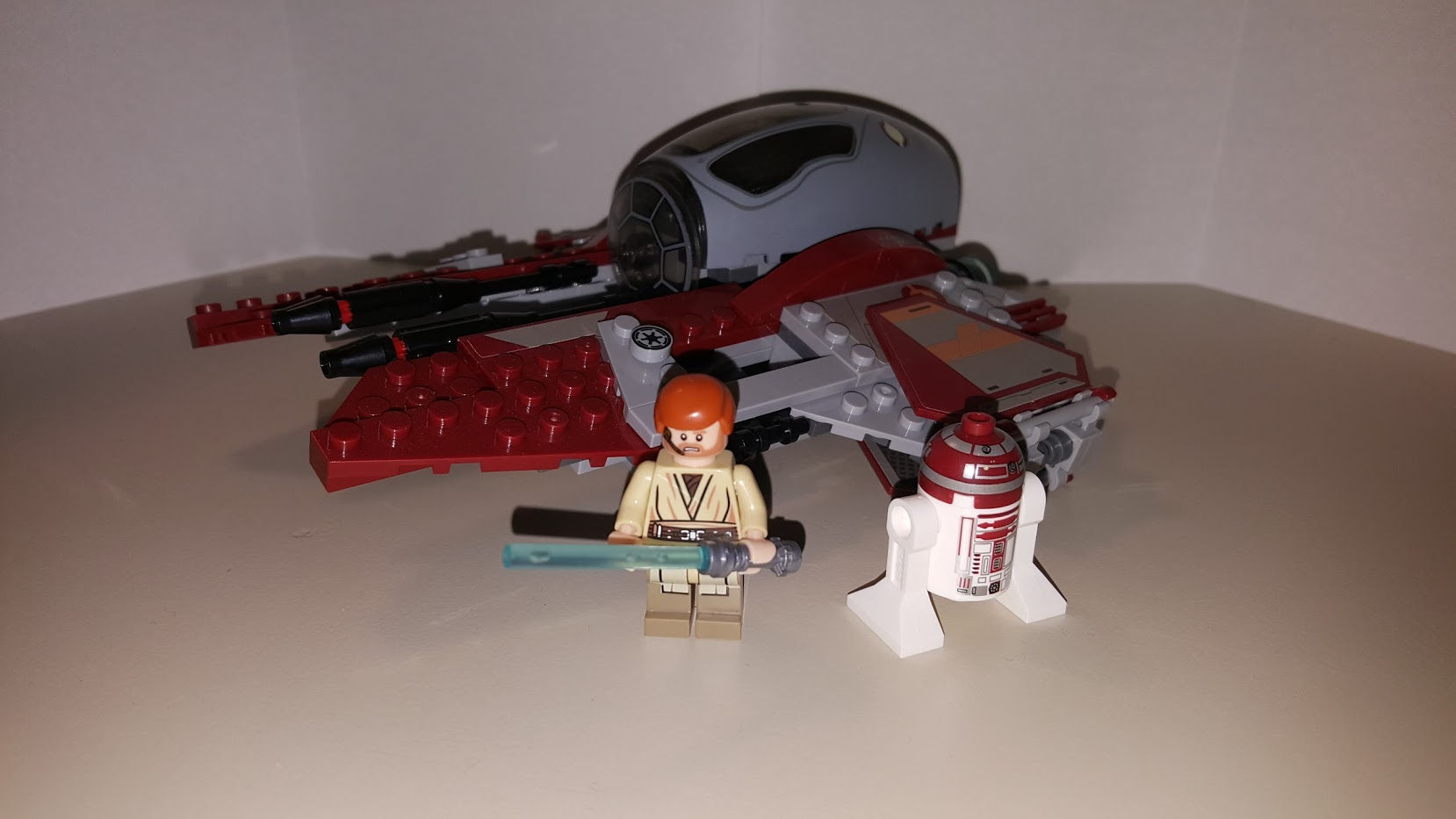 Review LEPIN 05020 - Obi-Wan's Jedi Interceptor 2