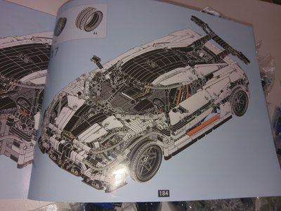 Review LEPIN 23002 - Koenigsegg One: 1 (MOC)