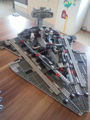 Review LEPIN 05062 - Imperial Star Destroyer