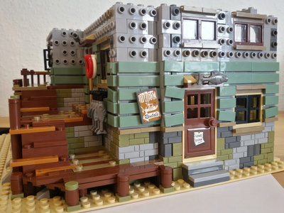 Review LEPIN 16050 - Old Fishing Store