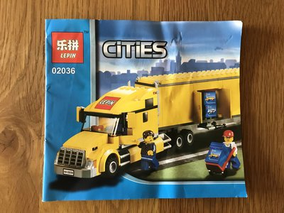 Review LEPIN 02036 - City Truck (3221)