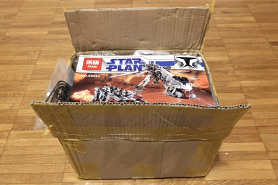 Review LEPIN 05053 - Republic Dropship with AT-OT Walker