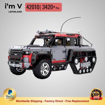 i'm V 42010 Half-track Land Rover with 3420 PCS