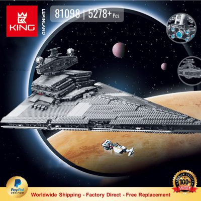 KING 81098 Imperial Star Destroyer Compatible LEGO 75252