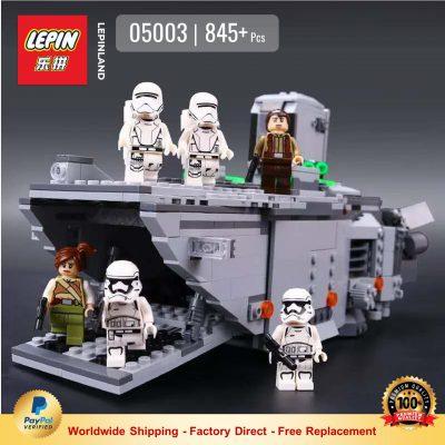 LEPIN 05003 First Order Transporter Compatible LEGO 75103