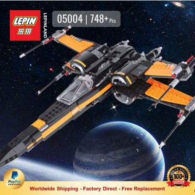 LEPIN 05004 Poe's X-wing Fighter Compatible LEGO 75102