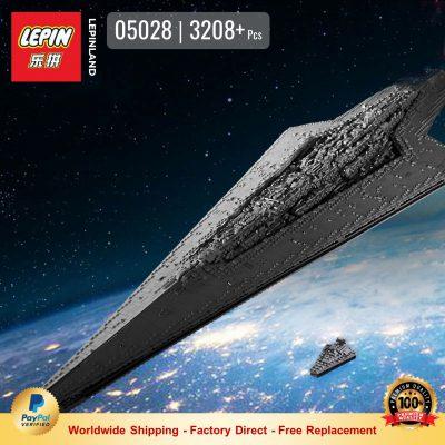 LEPIN 05028 Super Star Destroyer Compatible LEGO 10221