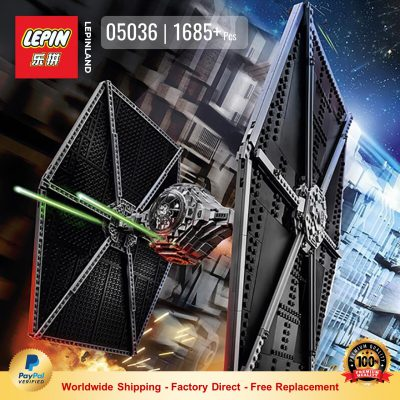 LEPIN 05036 TIE Fighter Compatible LEGO 75095