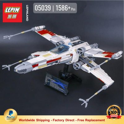 LEPIN 05039 Red Five X-wing Starfighter Compatible LEGO 10240