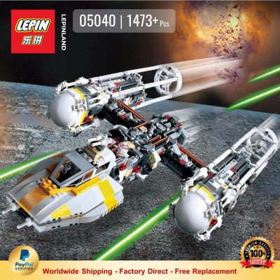 LEPIN 05040 Y-wing Attack Starfighter Compatible LEGO 10134
