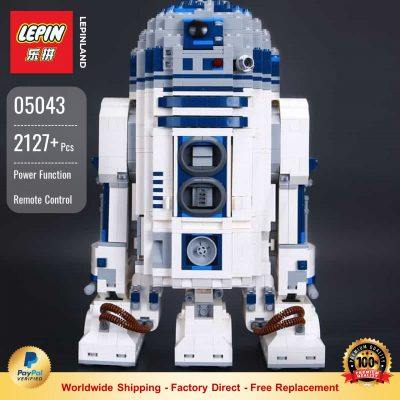 LEPIN 05043 R2-D2 Compatible LEGO 10225