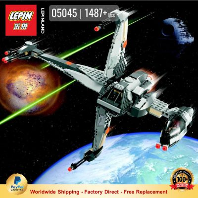 LEPIN 05045 B-Wing Starfighter Compatible LEGO 10227