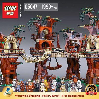 LEPIN 05047 Ewok Village Compatible LEGO 10236