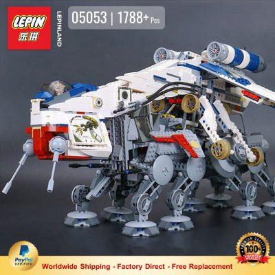 LEPIN 05053 Republic Dropship with AT-OT Walker Compatible LEGO 10195