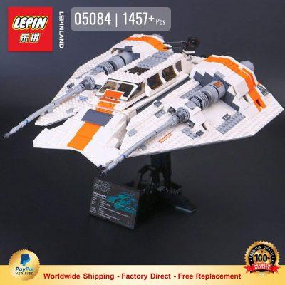 LEPIN 05084 Snowspeeder Compatible LEGO 75144 10129