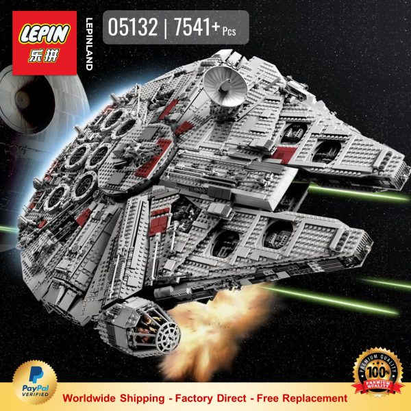 LEPIN 05132 Millennium Falcon Compatible LEGO 75192