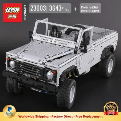 TECHNIC LEPIN 23003 Land Rover Defender 110 Compatible With MOC 30043