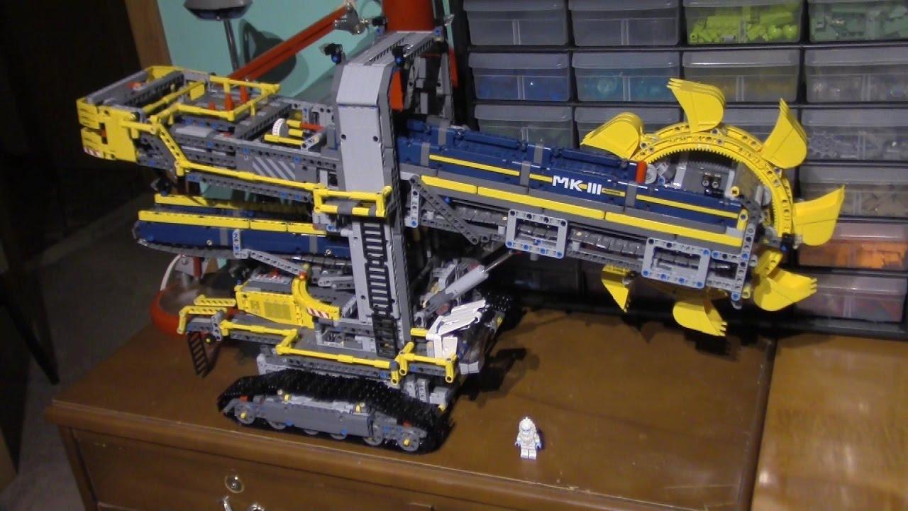 Quick Review LEPIN 20015 - Bucket Wheel Excavator