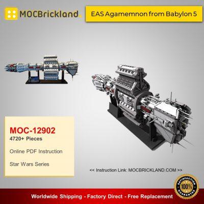 MOC 12902 EAS Agamemnon from Babylon 5 by manglegrat