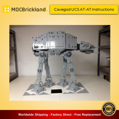 Star Wars MOC 4042 Cavegod UCS AT-AT Instructions by cjd_223