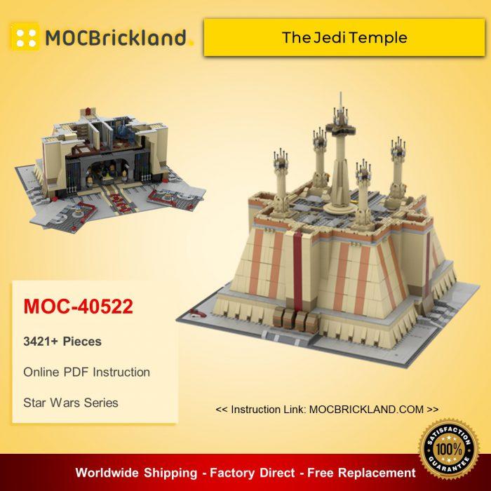 Star wars moc-40522 the jedi temple by zeradman mocbrickland