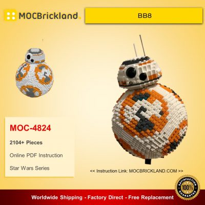 Star Wars MOC 4824 UCS BB8 by Aniomylone