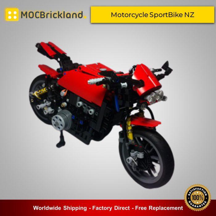 Technic moc-5295 motorcycle sportbike nz by nikolayzubov mocbrickland