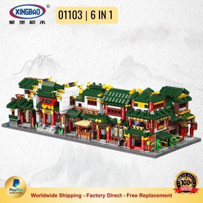 XINGBAO 01103 Chinatown 6 IN 1
