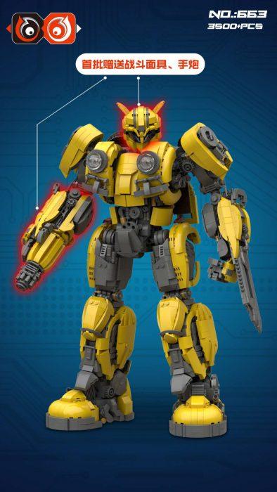 66 663 Bumblebee Verion 2018 Transformer Robot
